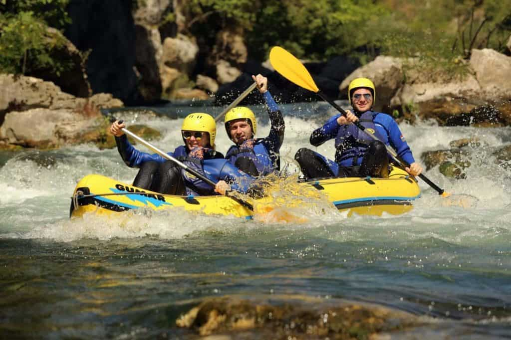 Rafting on Cetina river-Kaleta tours