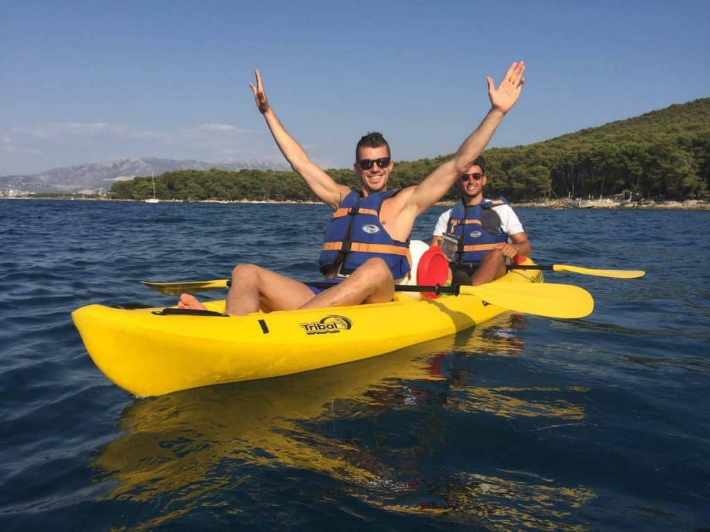 sea kayaking tour-Kaleta tours